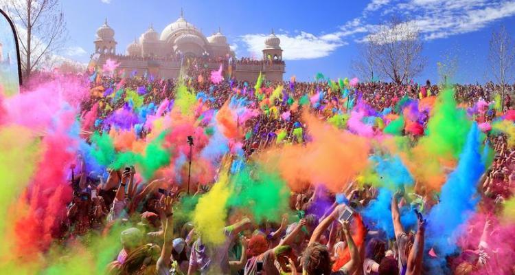 Holi Festival - Colorful Fun Together